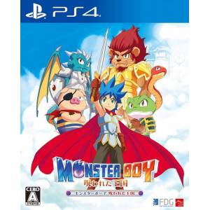 Monster Boy The Cursed Kingdom (Multi Language) [PS4]