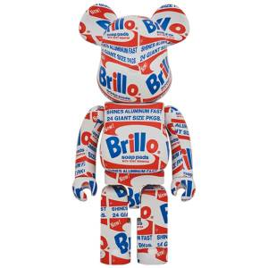 "BE@RBRICK / Bearbrick ANDY WARHOL ""Brillo"" 1000% Limited Edition [Medicom Toy]"