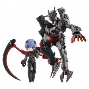 Desktop Army Rei Ayanami [Tentative Name] & Adams Unit-01 (Partly Transformed Mode) Zeele Design Limited Set [Megahouse]