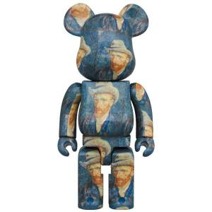 BE@RBRICK / Bearbrick Van Gogh Museum Self-Portrait with Grey Felt Hat 1000% Limited Edition [Medicom Toy]