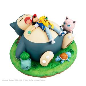 G.E.M. Series Pokemon Kabigon (Snorlax) to Oyasumi [Megahouse]