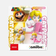 Amiibo Cat Mario & Cat Peach Set SUPER MARIO SERIES [Switch]