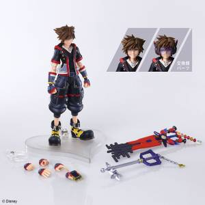 BRING ARTS Sora Version 2 KINGDOM HEARTS III [Square Enix]