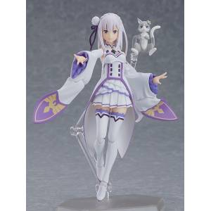 Figma Emilia Re:ZERO -Starting Life in Another World- Reissue [Figma 419]