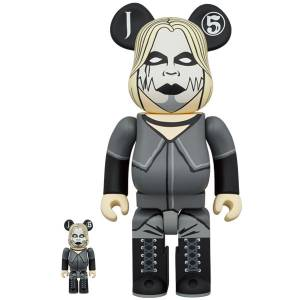 BE@RBRICK / Bearbrick John 5 100% & 400% 2PC Limited Set [Medicom Toy]