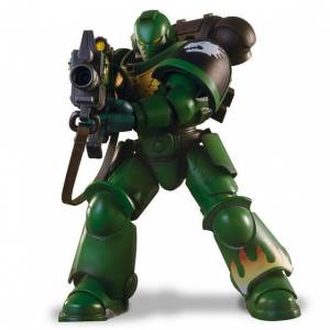 WARHAMMER 40,000 SALAMANDERS INTERCESSOR WITH BOLT RIFLE Limited Edition [Bandai]