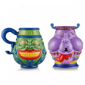 YU-GI-OH! - POT OF GREED MUG & POT OF AVARICE TEA CUP LIMITED SET [Bandai]
