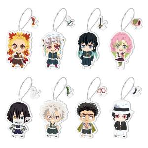 Demon Slayer: Kimetsu no Yaiba Everyone Focus! Mitsumete Acrylic Charm 2 - 8 Pack BOX (CANDY TOY) [Bandai]