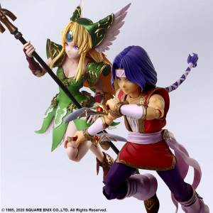 BRING ARTS Hawkeye & Riesz Seiken Densetsu Trials of Mana [Square Enix]
