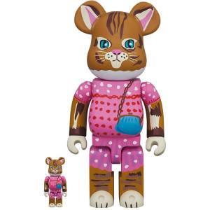 BE@RBRICK / BEARBRICK 100% + 400% Nathalie Lete Minette - 2 pieces LIMITED SET [Medicom Toy]