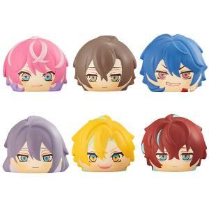 """FukaFuka Squeeze Bread """"Hypnosis Mic -Division Rap Battle-"""" Rhyme Anima Shibuya & Shinjuku 6 Pack Box [Megahouse]"""