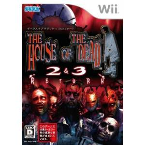 The House of the Dead 2 & 3 Return [Wii - Used Good Condition]