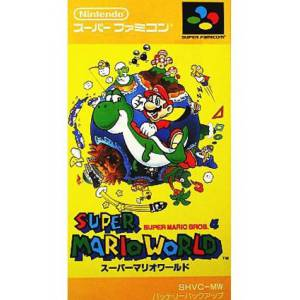Super Mario World [SFC - Used Good Condition]