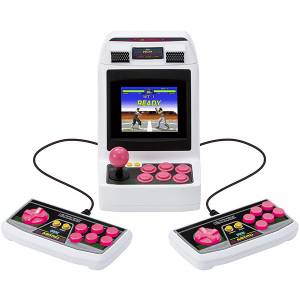 Astro City Mini SegaToys.com Pink Button 2 Control Pads Limited Set [SEGA - Brand new]