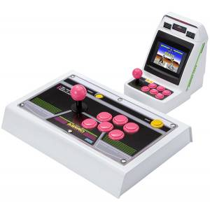 Astro City Mini SegaToys.com Pink Button Arcade Stick Limited Set [SEGA - Brand new]