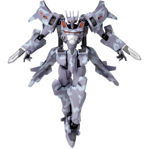 Muv-Luv Su-37UB Terminator Scarlet Twin Model [Revoltech Alternative No.011]