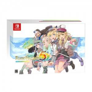 Rune Factory 5 Premium Box Famitsu DX Pack 3D Crystal Set [Switch]