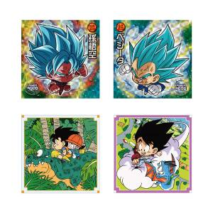 Dragon Ball Chou Senshi Sticker Wafer Z 18 20Pack BOX (CANDY TOY) [Bandai]