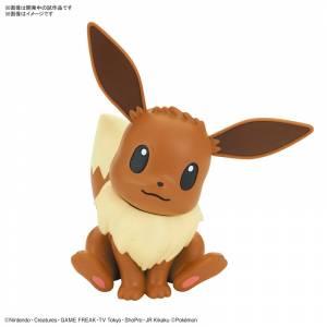 Pokemon Plamo Collection Quick!! 04 Eevee (Battle Pose) Plastic Model [Bandai]