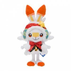 Pokemon Plush Christmas Wonderland Scorbunny [Plush Toy]