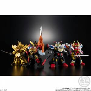 Brave Retsuden COLLECTION2 4Pack BOX (CANDY TOY) [Bandai]