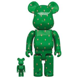 BE@RBRICK / BEARBRICK UNDERCOVER 100% & 400% FUCK FINGER LIMITED SET [Medicom Toy]
