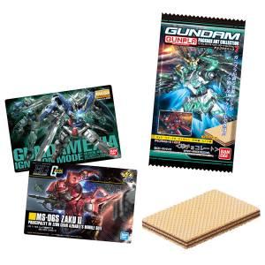 GUNDAM Gunpla Package Art Collection Chocolate Wafer 7 20Pack BOX (CANDY TOY) [Bandai]