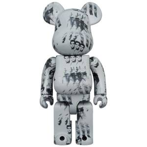BE@RBRICK / BEARBRICK 1000%  Andy Warhol's ELVIS PRESLEY LIMITED EDITION [Medicom Toy]