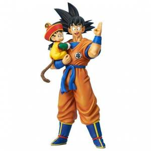 Gigantic Series Dragon Ball Z Son Goku & Son Gohan Limited Edition [Plex]