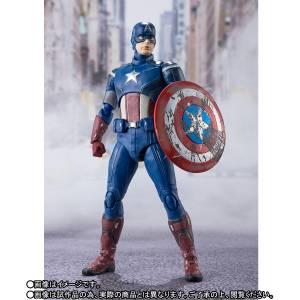 SH Figuarts Captain America AVENGERS ASSEMBLE EDITION [Bandai]