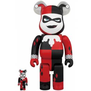 BE@RBRICK / BEARBRICK HARLEY QUINN (BATMAN The Animated Series Ver.) 100% & 400% LIMITED SET [Medicom Toy]