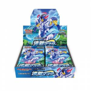 Pokemon Card Game Sword & Shield Expansion Pack Strike Master (RENGEKI) 30 Pack BOX [Trading Cards]