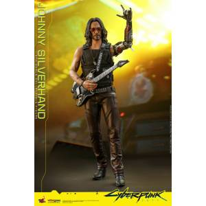 "Video game Masterpiece ""Cyberpunk 2077"" Johnny Silverhand [Hot Toys]"