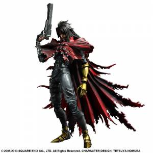 Final Fantasy VII Advent Children - Vincent Valentine [Play Arts Kai]