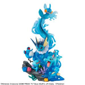G.E.M. EX Series Pokemon Water Type Dive To Blue [Megahouse]