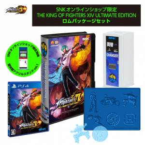 THE KING OF FIGHTERS XIV ULTIMATE EDITION Rom Package Set LIMITED EDITION [PS4]