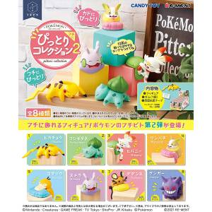 Pokemon Fuchipito Fuchi ni Pittari Collection 2 8 Pack BOX [Goods]