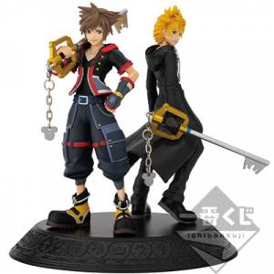 Ichiban Kuji - KINGDOM HEARTS Second Memory Sora & Roxas Statue [Banpresto]