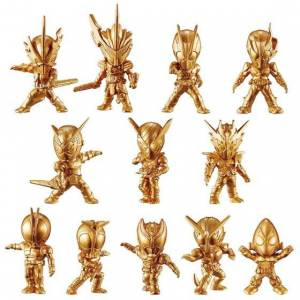 Kamen Rider Gold Figure 04 (16 pieces) CANDY TOY [Bandai]