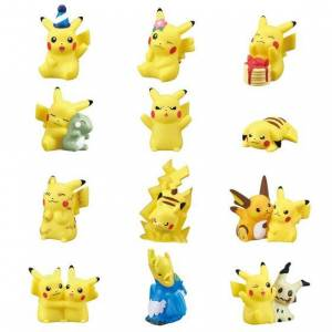 Pokemon Kids Pikachu Pikachu Gathering! 18 packs box CANDY TOY [Bandai]