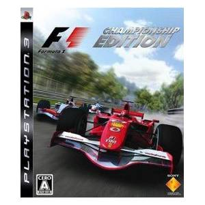 Formula One Championship Edition [PS3 - Used Good Condition]
