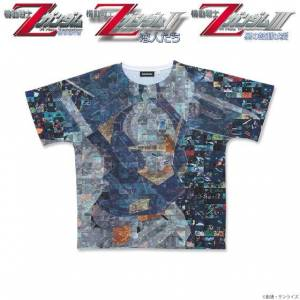 Movie version Mobile Suit Z Gundam Full Panel T-shirt Gundam Mk-II Limited Edition SIZE XL [Goods]