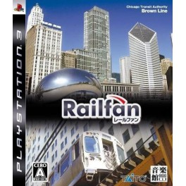 Railfan [PS3 - Used Good Condition]