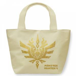 Monster Hunter 4 - Mini Bag unbleached color [Goods]