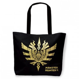 Monster Hunter 4 -  Bag Black color [Goods]