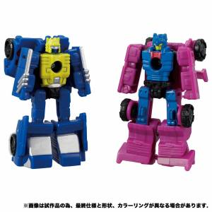 Transformers Earth Rise ER EX-09 Roller Force & Groundhog LIMITED [Takara Tomy]
