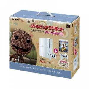 PlayStation 3 80GB Little Big Planet - Ceramic White [Neuve]