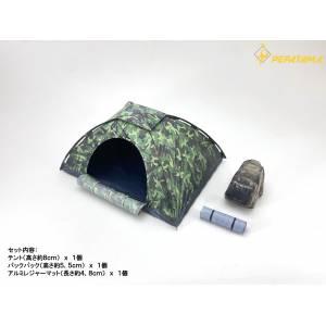 1/12 Scale Paper Diorama M-008 Tent Set A [Dragon Horse]