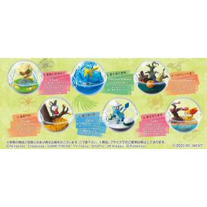 Pokemon Terrarium Collection -In the Changing Seasons 6 Pack BOX CANDY TOY [Rement]