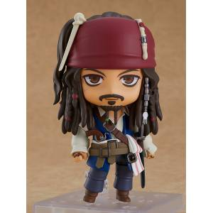 Nendoroid Pirates of the Caribbean On Stranger Tides Jack Sparrow [Nendoroid 1557]